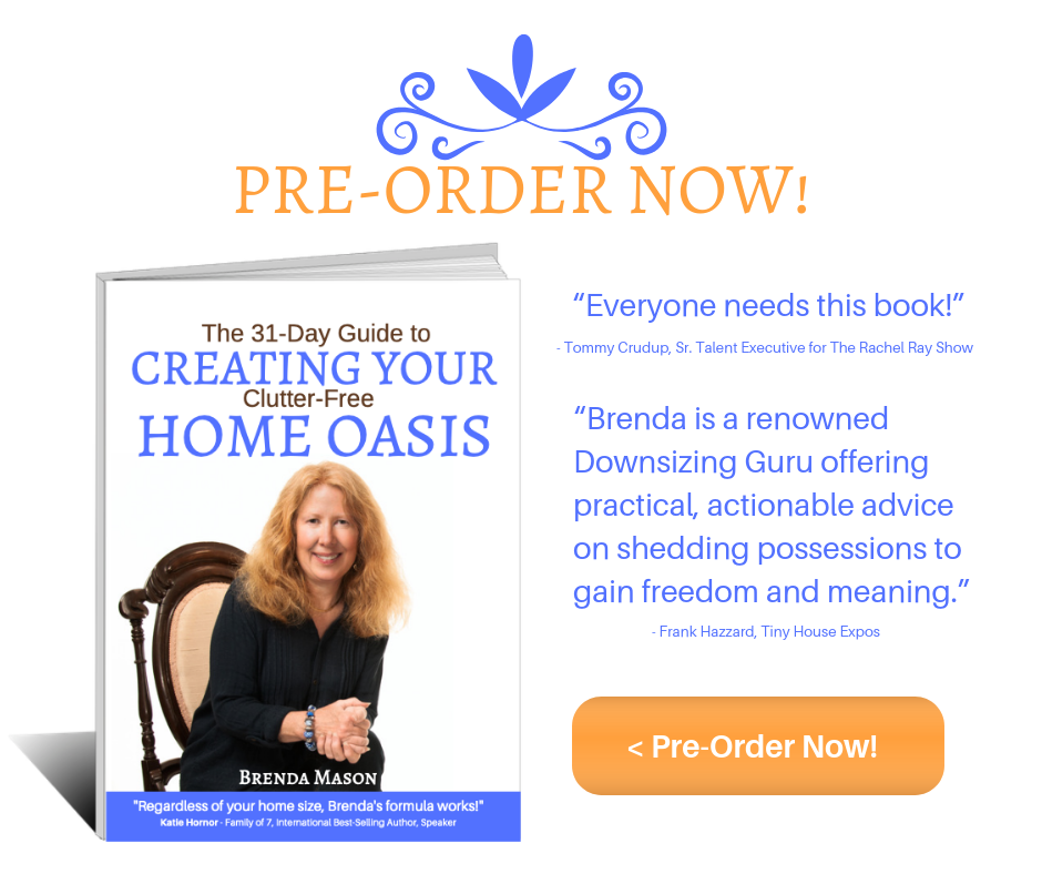 Creating Your Home Oasis by Brenda Mason, preorder now